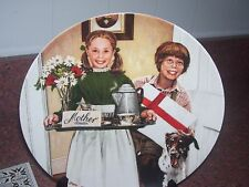 Knowles Plate Mother'S Day 1983 Signed Don Spaulding
