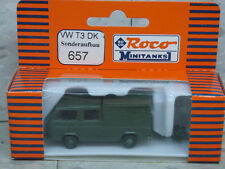 Roco Minitanks (New) Modern West German VW T3 Transporter Van Lot 920K