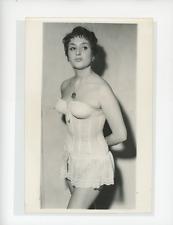 Mode féminine années 60 Vintage silver print Tirage argentique  13x18  Cir