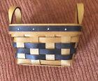 "Bradford Basekt Company Handwoven Vintage 1998 5"" x 3.5"" Small Basket"