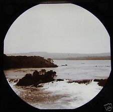 Glass Magic Lantern Slide WATERFALLS VICTORIA NYANZA C1900 NOW UGANDA AFRICA