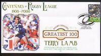 TERRY LAMB CANTERBURY BULLDOGS RUGBYs GREATEST 100 COV
