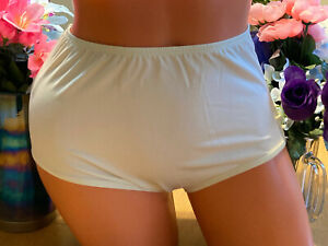 Weissman Size LC Ivory Dance Brief Panty No Gusset #86558 NWOT