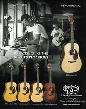 Martin D-45S D-28 D-18 OM-18 Authentic Series guitar ad 8 x 11 advertisement