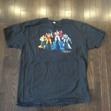 Transformers Autobots Optimus Prime Bumblebee Jazz Hot Rod T-Shirt Mens Size 2XL
