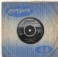 """Del Shannon - Hats Off To Larry 7"""" Single 1961"""