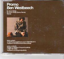 (FT545) Ben Westbeech, So Good Today - 2006 DJ CD