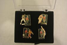 1996 Atlanta Olympic Collectors Pin Set of 4 Baseball Soccer Diving Cycling
