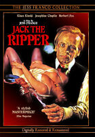 NEW Jess Franco's Jack the Ripper DVD Klaus Kinski - Commentary Erwin C Dietrich