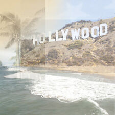 "12"" Scrapbook 5p Paper House Travel Hollywood Sign Los Angeles Collage vacation"
