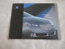 2003 PONTIAC G6 CONCEPT CAR MODEL INTRODUCTION PRESS RELEASE KIT BROCHURE RARE