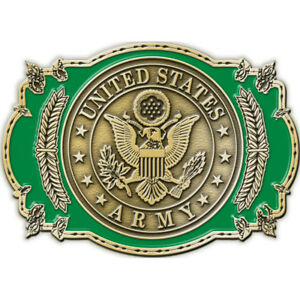"""U.S. Army Belt Buckle 3-1/8""""  Made in the USA"""