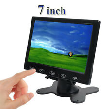 7 inch Touch Button Display HDMI 1080P AV VGA TFT LCD Monitor For PC POS Car DVD