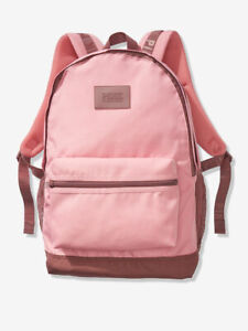 Victoria's Secret PINK Campus Backpack 2019 Book Bag Smokey Rose NWT