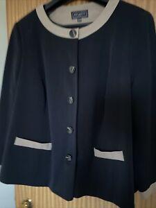 Ladies Jacket By Ann Harvey - Size 26 - Worn Once