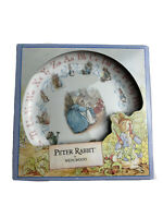 Vintage 1993 Wedgewood Frederick Warne & Co.Peter Rabbit ABC Childs Plate 8""