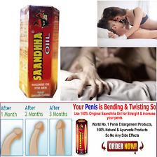 REPL 100% Original Sandha Saandhha Sanda Oil Organ Enlargement Massage Oil 15 ml