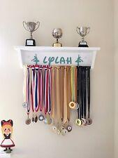 Medal Hanger Trophy Shelf for Dancers / Gymnastics - Dowel Bar