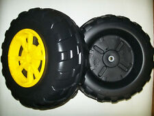 John Deere Peg Perego Gator XUV Front Wheel Set (2 Tires) Left & Right - **NEW**