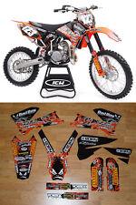 Bad Boy Motocross Graphics KTM EXC 2005-2007  DIRT BIKE GRAPHICS KIT ENJOY MFG!