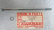 Kawasaki NOS NEW  21015-005 Panhead Screw 6x110 Z1 KZ ZN ZX KZ1300 1973-89