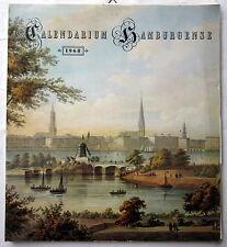 CALENDARIUM HAMBURGENSE - Ein Topographikon Kalender von 1968