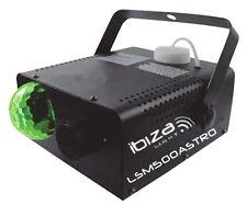 Jeu de lumière LED et machine à fumée 2 en 1 + 1L liquide IBIZA LSM500 ASTRO