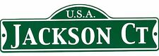 Green Street Room Sign Personalized  ~ USA JACKSON CT ~ Stocking Stuffer ~