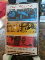 THE POLICE  Synchronicity  Original A&M Cassette No. A&M CS-3735, CrO2, BASF