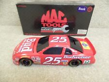 1997 Action 1:24 Scale Diecast NASCAR Ricky Craven MAC Tools Budweiser Chevy #25