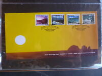 NEW ZEALAND 2000 SCENIC DEFINITIVES SET 4 STAMPS FDC FIRST DAY COVER