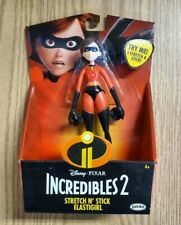 """The Incredibles 2 Stretch N' Stick Elastigirl 6"""" Action Figure,New in Package"""