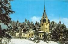 Romania Sinaia Muzeul Peles Museum Winter