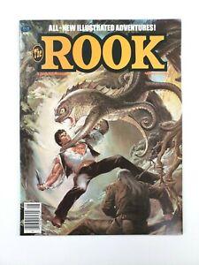 The ROOK #4 Illustrated Comic Magazine August 1980 Warren Publishing