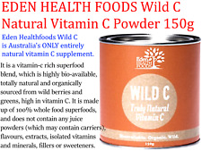 EDEN HEALTH FOODS Wild C Natural Vitamin C Powder 150g  *  All natural vitamin C