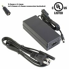 UL Listed 12v 5A 60W LED LIGHT AC to DC POWER ADAPTER + 5.5mm x 2.5mm Connector