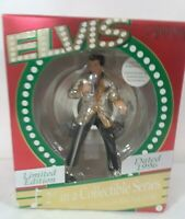 1996 Carlton Cards Ornament Elvis Presley 2nd Limited Edition Bring My Baby Back