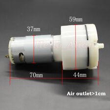 DC 5V-12V 6V 9V Large Flow Air Oxygen Pump Vacuum Pump Negative Pressure Pump