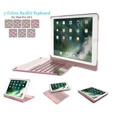 iPad Pro 10.5 Keyboard Case Cover-Naswei Backlit Wireless Bluetooth Keyboard 360