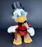 """Walt Disneyland Scrooge McDuck Posable Plush Soft Toy Collectible Duck Tales 16"""""""