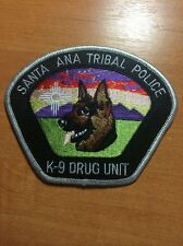 PATCH POLICE SANTA ANA TRIBAL - K9 CANINE DRUG UNIT - state NM  NEW MEXICO