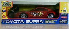 Toyota Supra with light up headlights Radio Control Car 1:20 New in box 5+