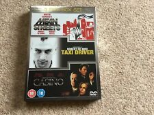 Taxi Driver/Casino/Mean Streets  3-Disc Dvd Box set