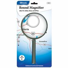 Magnification Handheld Magnifier Magnifying Glass Handle 4 inch 4""
