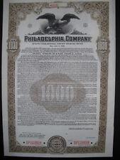 Philadelphia Company  1941  1000$ Bond  Specimen