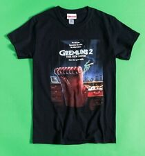Official Black Gremlins 2 The New Batch Poster T-Shirt