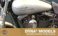 2007 HARLEY-DAVIDSON DYNA OWNERS MANUAL -FXDWG-FXD-FXDC-FXDL-FXDB-HARLEY DYNA