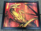 Shivan Dragon - WOTC Art Print on Canvas (RARE Limited Edition #47/250)