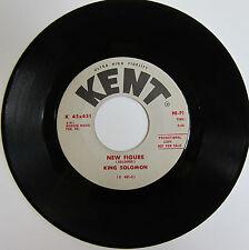 KING SOLOMON: New Figure / S. K. Blues - Soul/Blues  - Kent Promo VG+