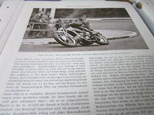 Motorrad Archiv Motorradrennen 3204 Franz Novotny DKW Wien 1939 Höhenstraßenrenn